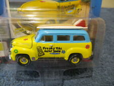 JOHNNY LIGHTNING 2018 STREET FREAKS SURF RODS RELEASE 4 (A), 1950 CHEVY SUBURBAN