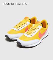 Nike Daybreak Yellow White Girls Women's Trainers All Sizes