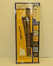 AHM 2510 LEFT HAND RC SWITCH W/ CONTROLLER & WIRE BRASS HO SCALE NEW