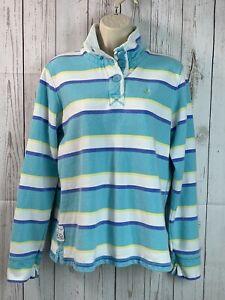 CREW CLOTHING Women's Striped Harbour Sweatshirt Jumper   Size 10