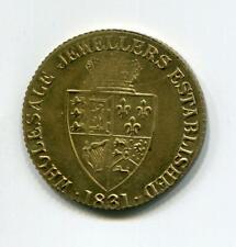 BRADFORD 1831 FATTORINI TOKEN