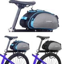 Bike Rear Rack Trunk Bag Bicycle Luggage Bag Gear Bag MTB BMX Accessories Pack