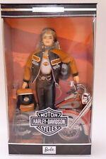 HARLEY DAVIDSON BARBIE - 1999 with Blond Hair #25637 - RARE/NRFB