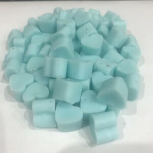 30 X Mini Hearts Highly scented Soy wax melts FREE P&P