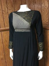 Stretch Khaleeji Abaya Arabic Abaya Hijab Dubai Made Size 60 XL
