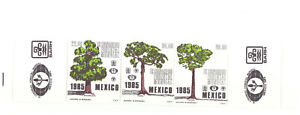 MEXICO SC.1392a 1985 WORLD FORESTRY CONGRESS MNH  CAT.$5.00 PBPG4