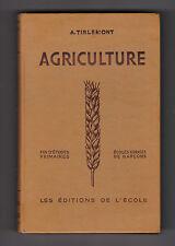 Agriculture et Hygiène  Écoles rurales de garçons/écoles d'agriculture Tirlemont