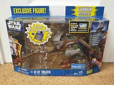 STAR WARS CLONE WARS AT-RT WALKER WITH ARF TROOPER - WAL MART SEALED