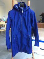 Kathmandu Gore Tex Womens Jacket 10 Coat M White Blue Jacket Medium Grey