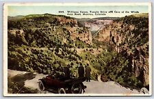 Williams Canon Temple Drive Cave of the Winds Road Manitou, Colorado Postcard