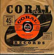 DOROTHY COLLINS BABY CAN ROCK ROCKABILLY OLDIES 45 RPM RECORD