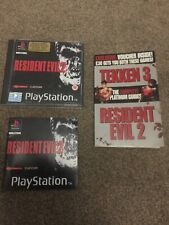 Resident Evil 2 Playstation PS1 Black Label y Mini Guía