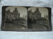 International View Co #3073 1904 St. Louis World's Fair Festival Hall Stereoview