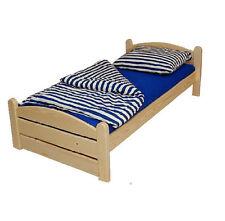 Bett Doppelbett Thorsten 180 x 200 cm,Kiefer Natur Lackiert