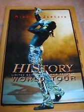 """Michael JACKSON """"History World Tour souvenir Program"""" Limited Edition"""