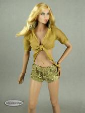 1/6 Phicen, TB League, FG Female Sexy Military Camouflage Set #2 (Khaki Version)