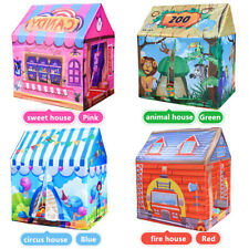 Children's Princess Castle Play Tent Indoor Outdoor Flodable Game House Toy Gift