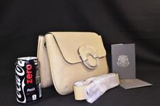 New $1350 Ghurka PADMA Tortourlle Leather Crossbody Messenger Bag Shoulder Bag