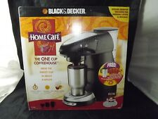 NEW Black & Decker Home Cafe Coffee Maker + Lattes Mochas Stainless Mug BONUSES