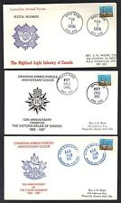 CANADA 1988 CANADIAN ARMED FORCES EIGHT COVERS DIFFERENT REGIMENTS