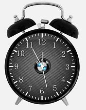 "BMW Alarm Desk Clock 3.75"" Home or Office Decor Z190 Nice For Gift"
