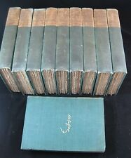 Vintage 1896 The Comedy of Human Life Book Limited 500 Sets Lot of 10 Balzak