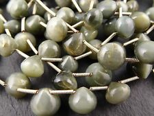 **CLEARANCE** CAT'S EYE ONIONS, 8mm, 19 beads