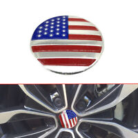 1x DOME SHAPE 3D Metal US American Flag Car Style Sticker Decal Emblem Accessory
