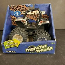 Polaris Rzr Monster Treads Atv by Ertl 2009 Bouncy Tires Toy