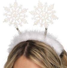 Christmas Fancy Dress Snowflake Winter Snow Flake Boppers on Headband by Smiffys