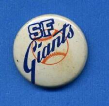 1970 Creative House Logo Pin SAN FRANCISCO GIANTS