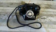 New ListingKellogg Art Deco Ashtray Telephone Braided Cord Cazenovia oldfield 5