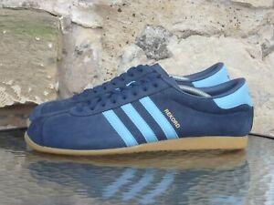 2009 Adidas Originals Rekord UK10.5 / US11 Blue Gum Rare OG Vintage Berlin
