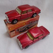 Matchbox Lesney Superfast No39b Rolls Royce Plata Sombra-variaciones + Caja Como Nuevo