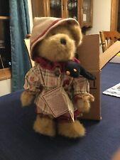 "Boyds Bears ""Rusty Scaredybear"" #94667Lb- 10"" Bear- Longaberger Exclusive - New"