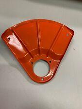 NOS Factory Echo String Trimmer Orange Metal Grass Debris Shield Guard Shroud