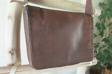 "RARE COACH 4127 ""Museum Bag-Manhattan Collection"" BROWN LEATHER SHOULDER BAG, US"