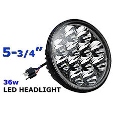 "5-3/4"" LED HID  Light Bulb Crystal Clear Sealed Beam Headlamp Headlight Each"