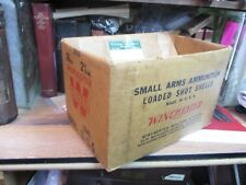EMPTY WINCHESTER SHOTGUN SHELL CARDBOARD BOX SHIPPING crate shot ORIGINAL 16 GA