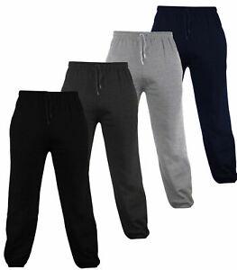 Boys Girls Sports Jogging Pants Joggers Fleece Sweat Pants Kids Ages 5-13 Yrs