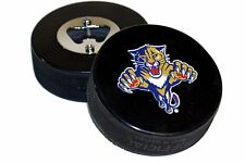 Florida Panthers Basic Logo NHL Hockey Puck Bottle Opener