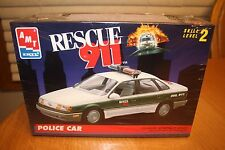 AMT Rescue 911 Police Car Kit # 6417 Factory Sealed 10+ 1:25