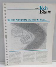 Kodak Tech Bits No 3 1987 Science Law Electron Micr Photo P-3-88-3 Magazine B118