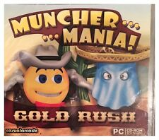 MuncherMania Gold Rush (PC) BRAND NEW SEALED - FREE U.S. SHIP - WIN10, 8, 7, XP