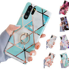 Stylish Marble Soft Case Cover for Huawei P40 Mate 20 Pro P30 Pro Shockproof Gel