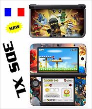SKIN STICKER AUTOCOLLANT DECO POUR NINTENDO 3DS XL - 3DSXL REF 205 LEGO NINJAGO