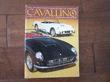 VINTAGE CAVALLINO FERRARI MAGAZINE NUMBER 66 December 1992