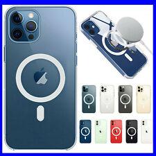 Cover Custodia MagSafe per Apple iPhone 12 /12 Pro MAX /Mini SLIM magnetica