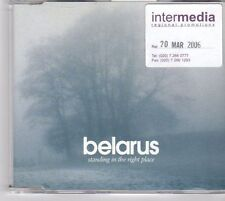 (DY552) Belarus, Standing in the Right Place - 2006 CD