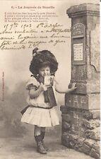 5 la journée de suzette  ,boite aux lettres   ,fillette, 1903.